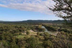 Overlooking the Frio River