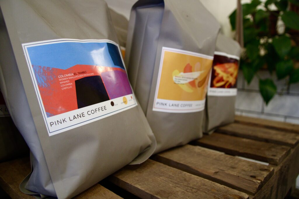 Pink Lane Coffee Sources Coffee From A Women's Farm