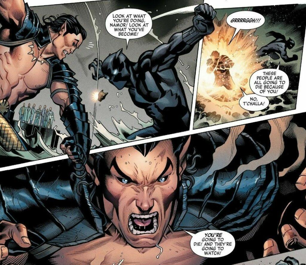 Black Panther vs. Namor Image 4