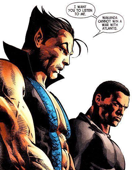 Black Panther vs. Namor Image 6