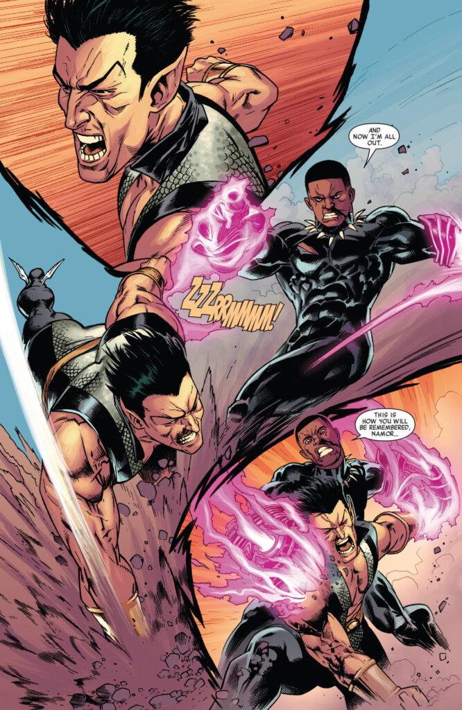 Black Panther vs. Namor Image