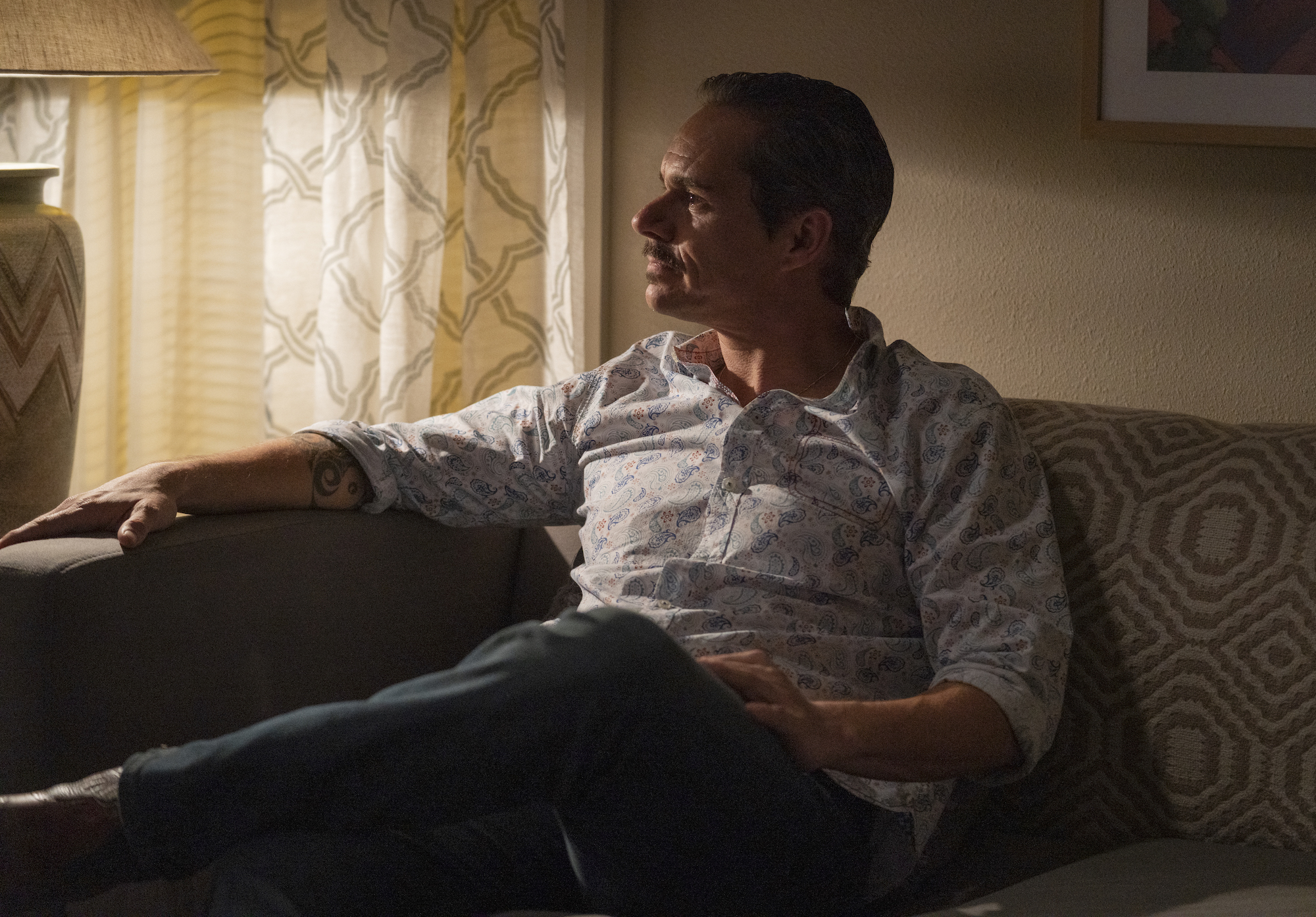 Tony Dalton as Lalo Salamanca - Better Call Saul _ Season 5, Episode 9 - Photo Credit: Greg Lewis/AMC/Sony Pictures Television