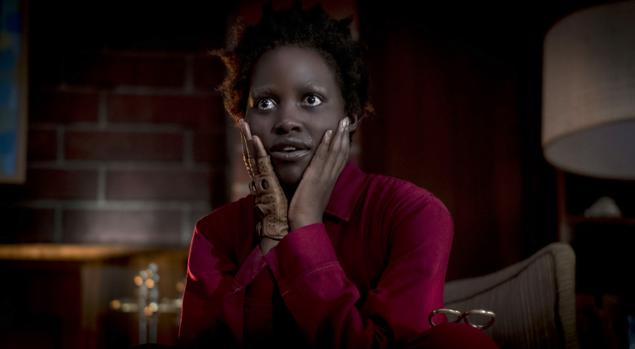 """Lupita Nyong'o as Adelaide Wilson doppelgänger Red in """"Us,""""."""