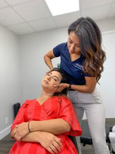 Chiropractic Adjustment auto accident