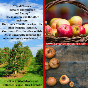 Don't be a rotten apple