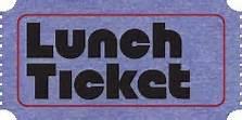 Lunch Ticket