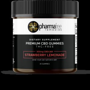 300 mg THC Free CBD Gummies