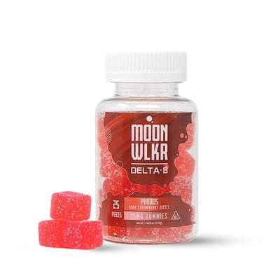 400 mg Strawberry Moonwlkr Gummies