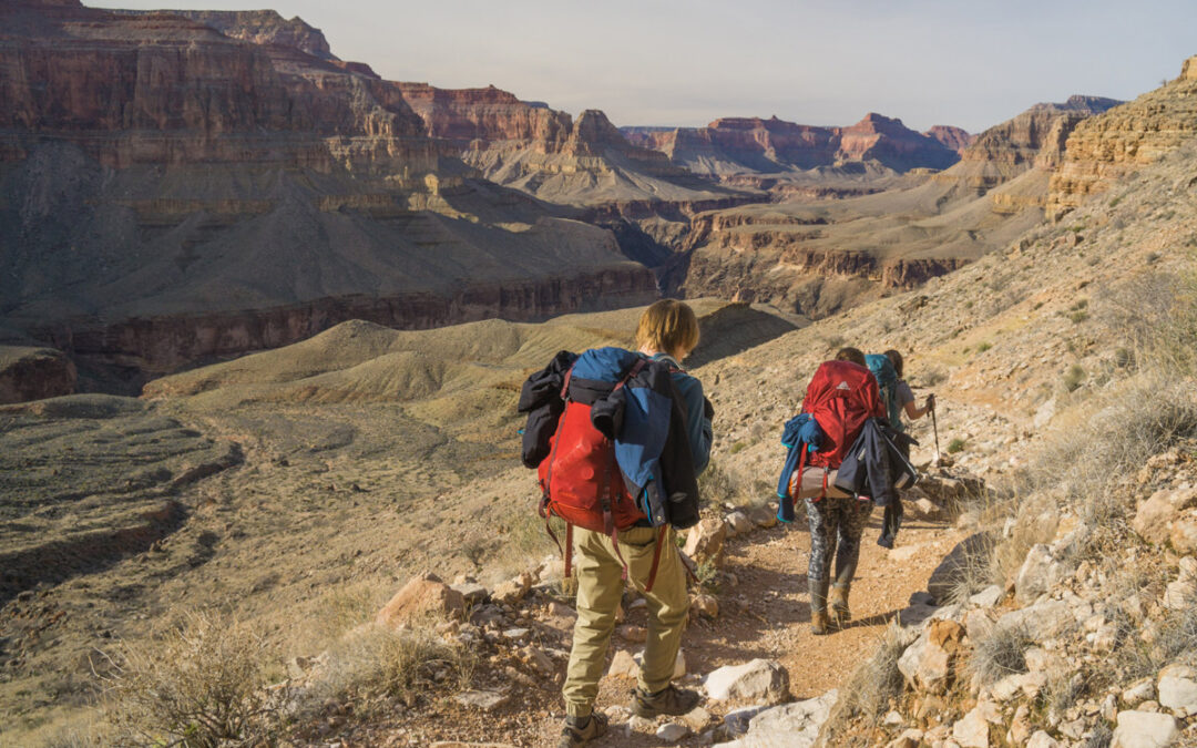 What is the Rim to Rim to Rim Hike in the Grand Canyon?