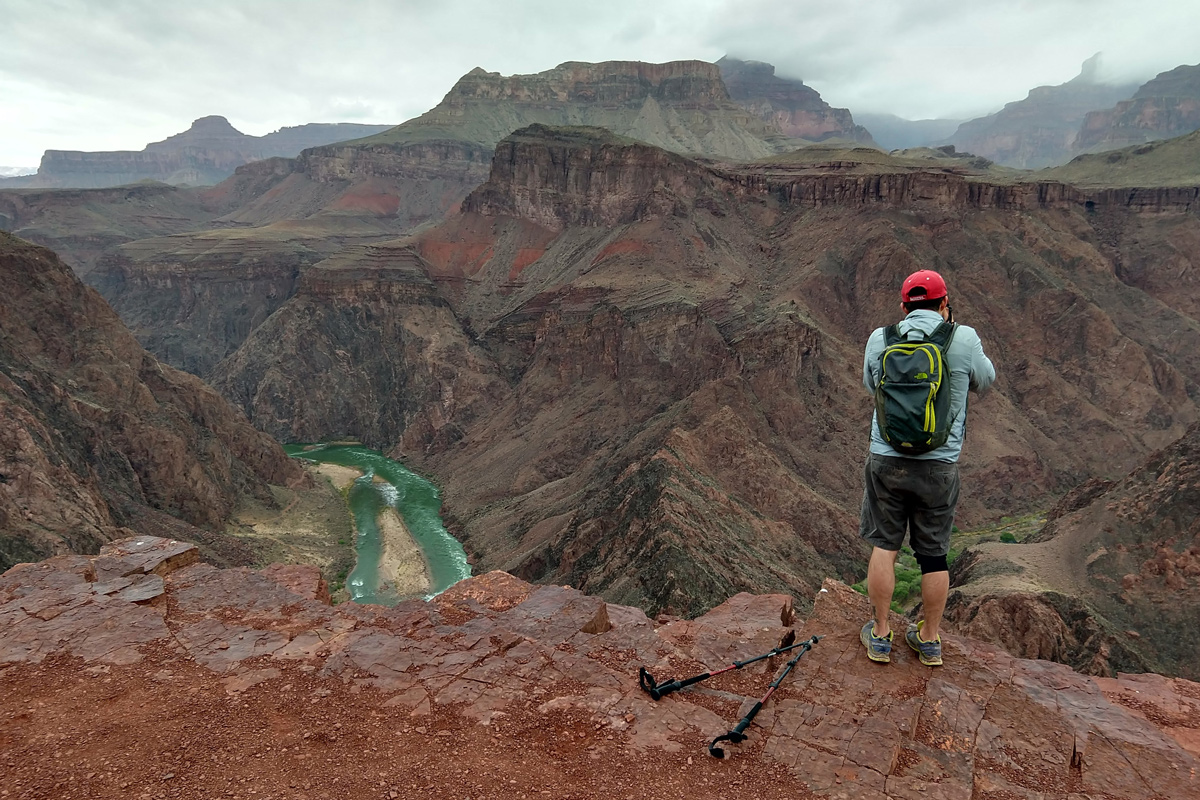 Grand Canyon day hike on a free entrance day