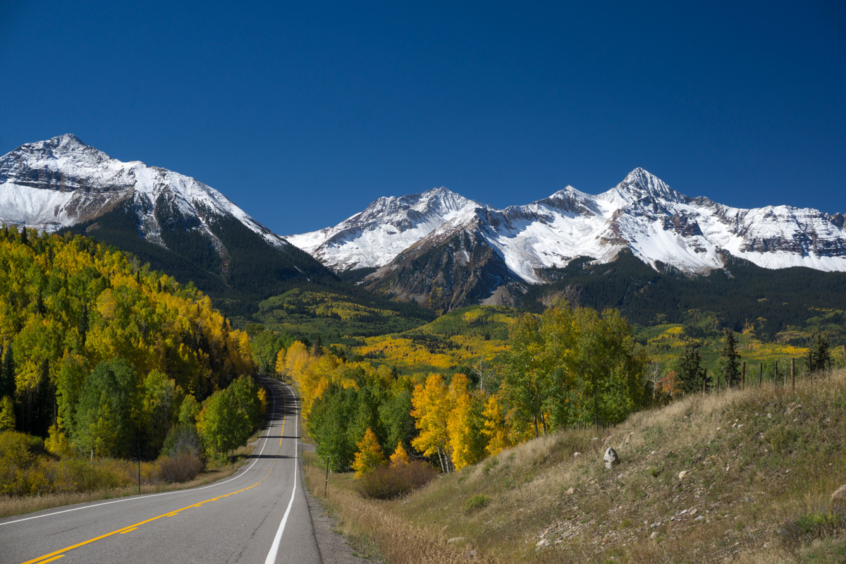 """The """"Wilson Group"""" right outside of Telluride"""