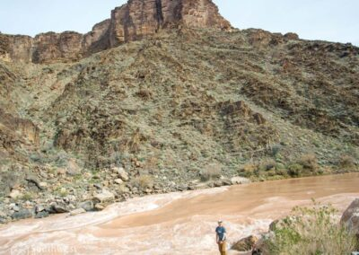 The Hermit Rapids on the Colorado River.