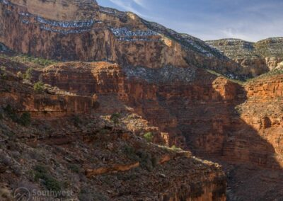 Looking west on Hermit Canyon.