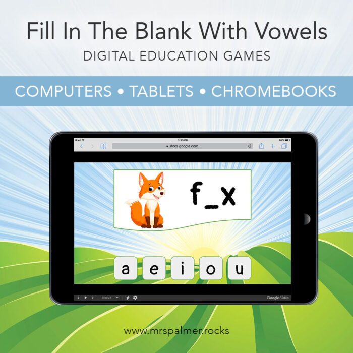 Fill In The Blank With Vowels 1