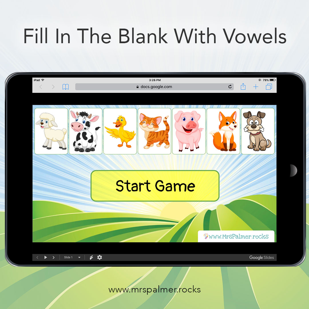 Fill In The Blank With Vowels 2