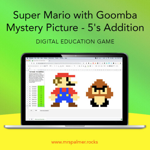 Super Mario with Goomba Mystery Picture Image