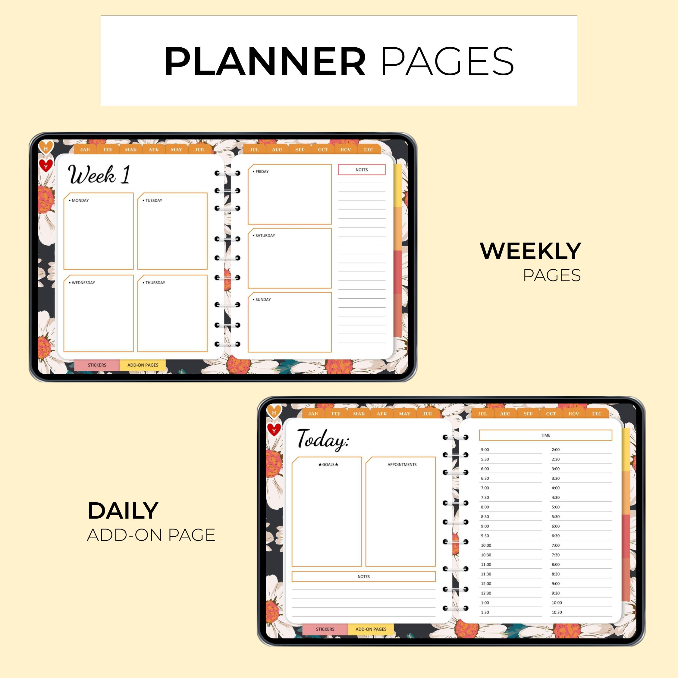 Classic Digital Everyday Planner - Product Images 2