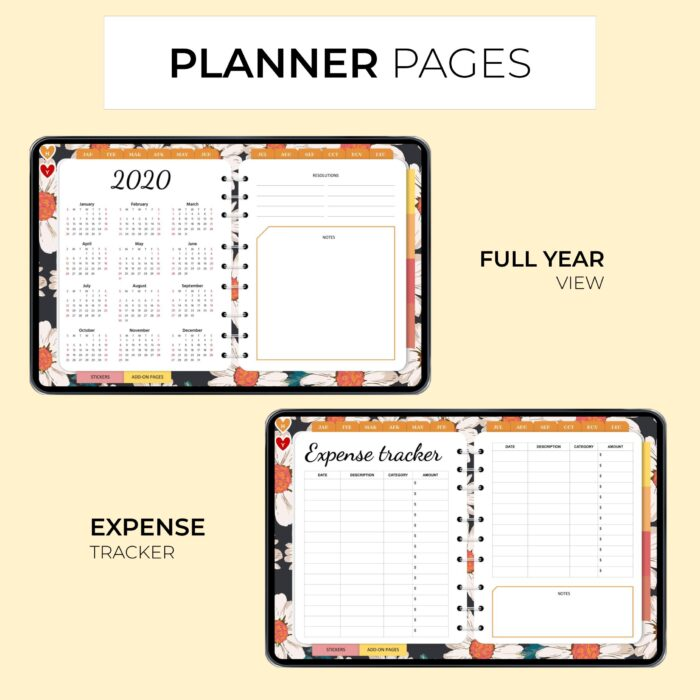 Classic Digital Everyday Planner - Product Images 3