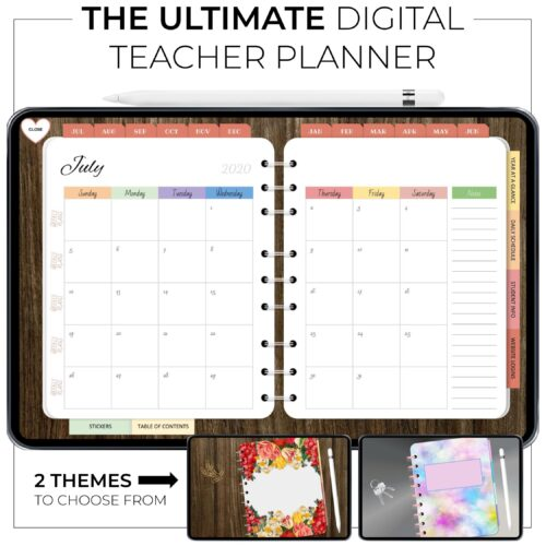 Ultimate Digital Teacher Planner 1