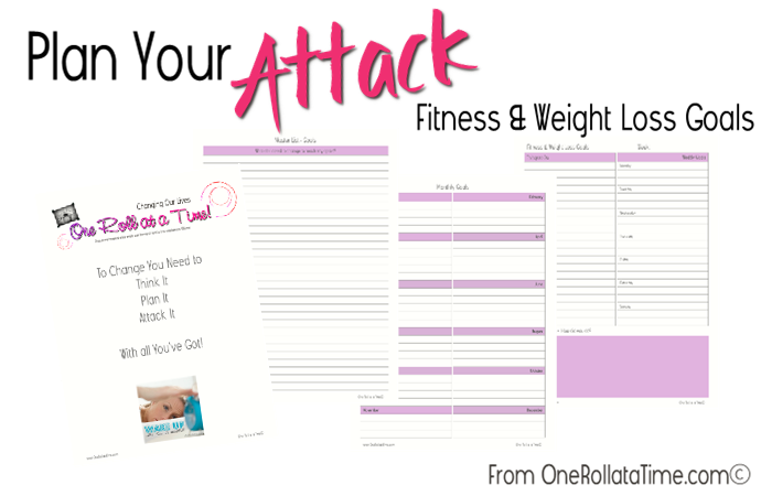 Plan Your Attack - Fitness & Health Goals a {free} download for all subscribers!  www.OneRollataTime.com