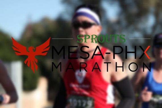 Sprouts Mesa-PHX Marathon Race Recap