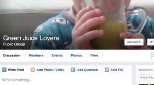 """Facebook'ta: """"Green Juice Lovers Türkiye"""" Grubu"""