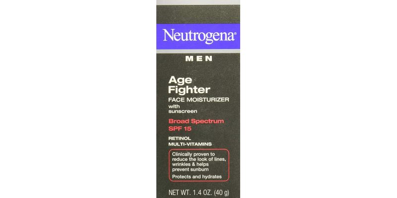 Neutrogena Age Fighter Anti-Wrinkle Face Moisturizer for Men