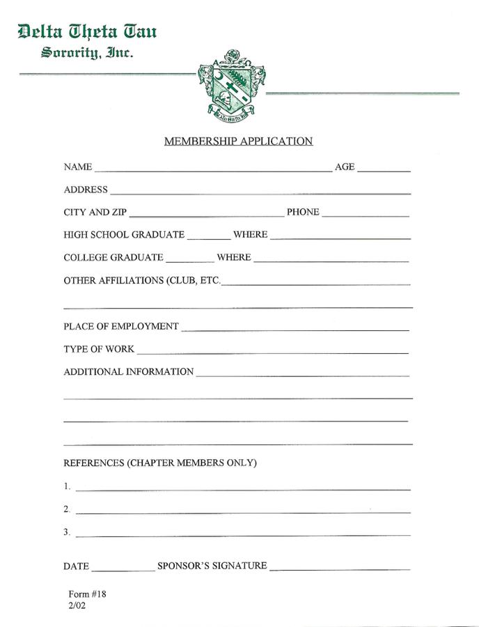 Form18MembershipApp