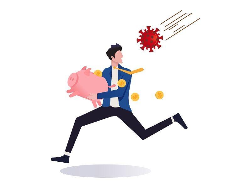 Stock market panic sell from novel corona virus cm
