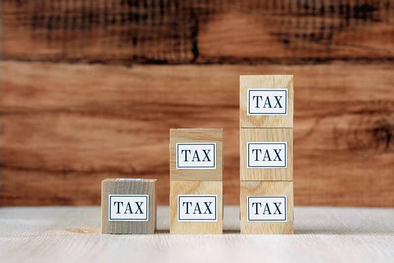 Increasing tax rate images cm