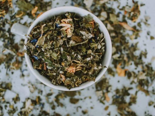 tea leaves for fertility, conception and healthy pregnancy