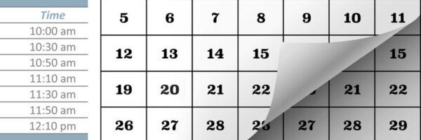 David Grupa Sports - Schedule
