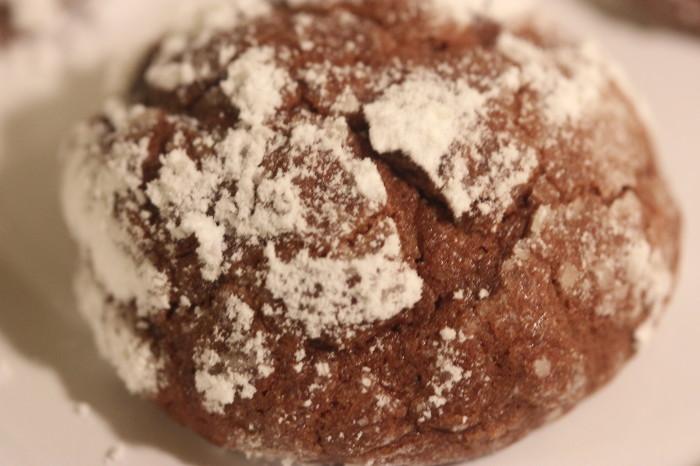 Kris Kringle's Christmas Chocolate Crinkles