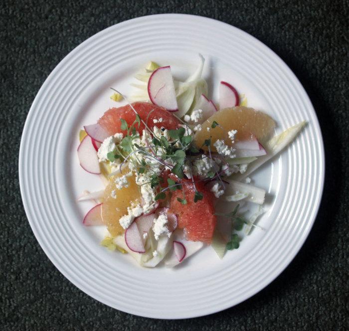 Crimson and White Citrus Salad