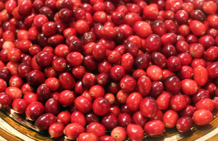 Canadian Cranberry Confit with Onions and Raisins