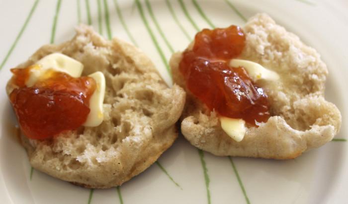 English Muffins from Tartine Bread