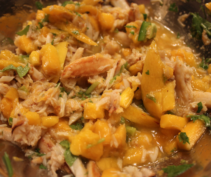 Crab and Mango Salsa from The Goodness of Avocado