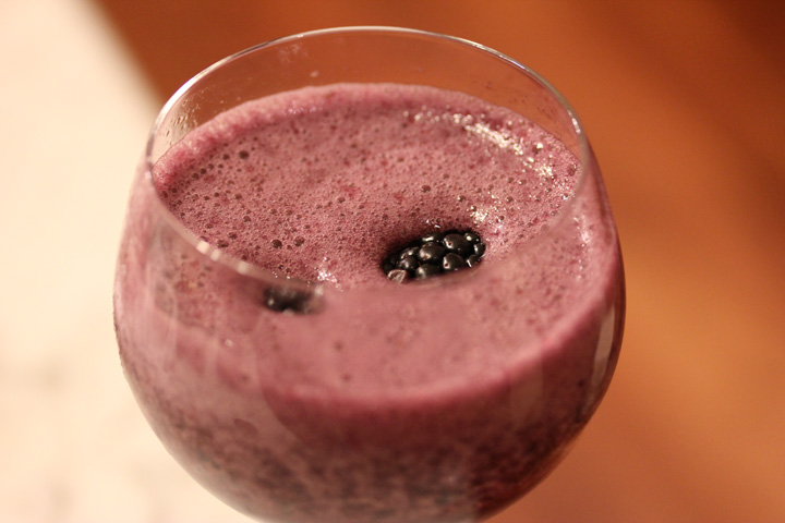 Frozen Berry Bellini