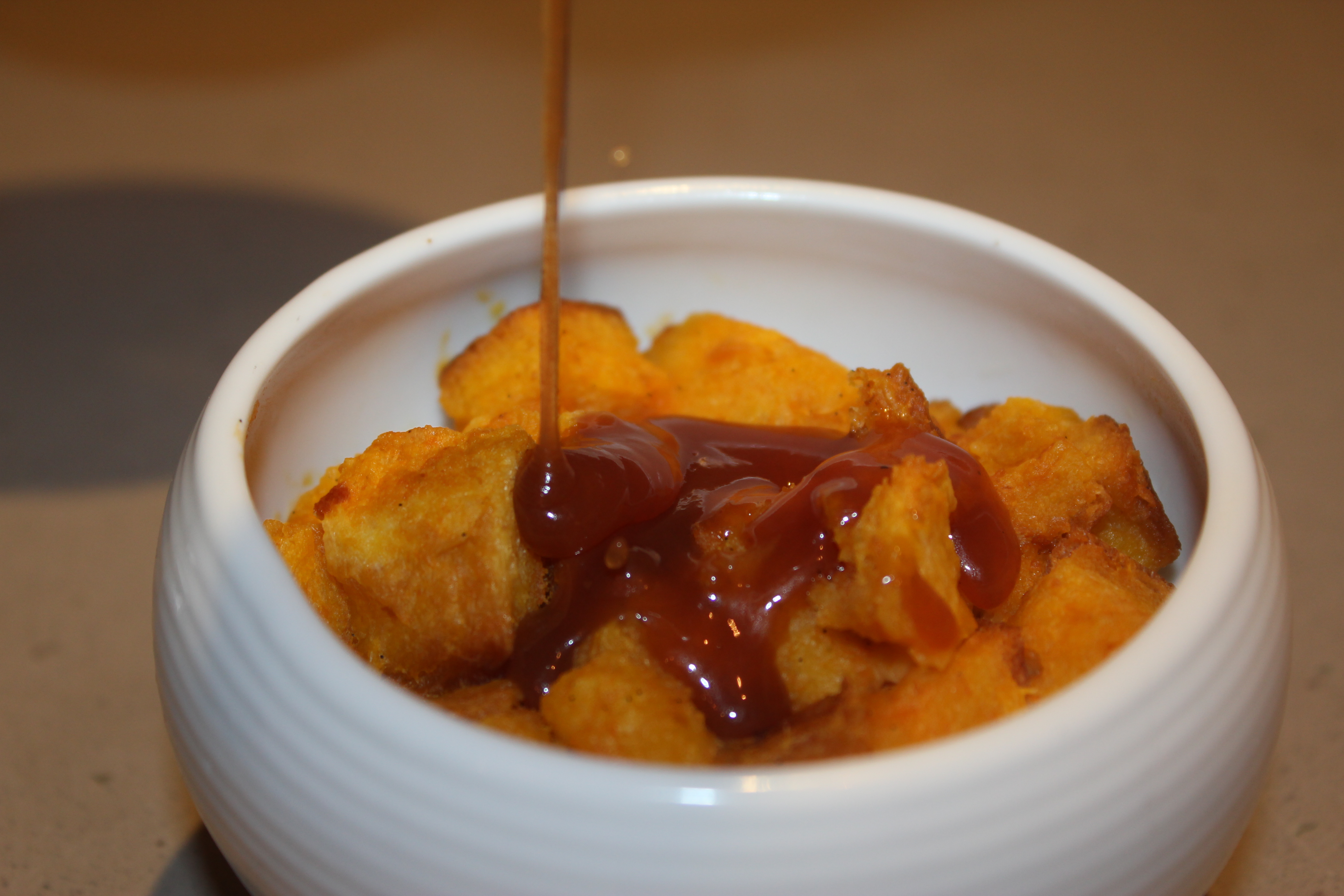 TBT Recipe: Sweet Potato Bread Pudding with Whiskey Hard Sauce