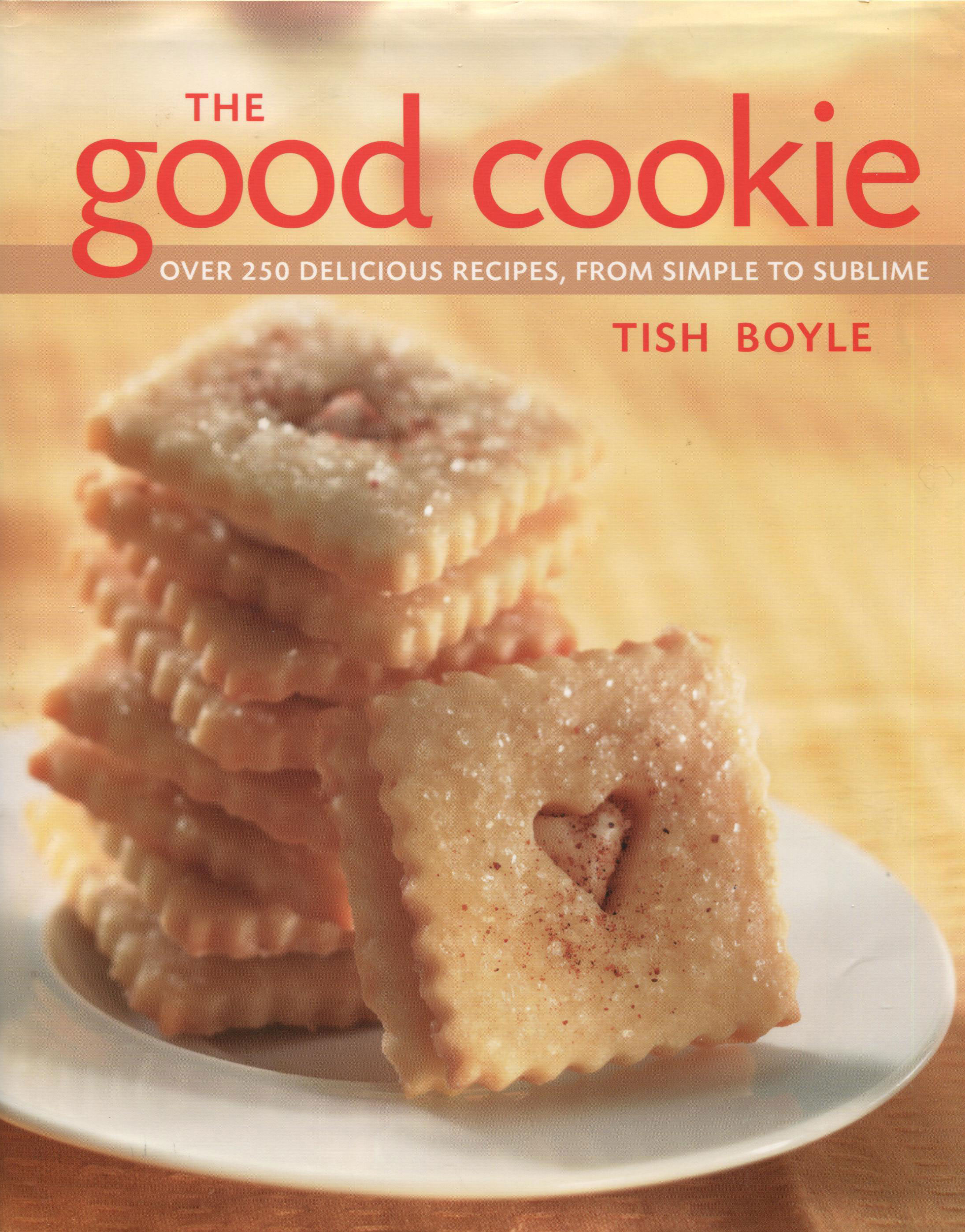TBT Cookbook Review: The Good Cookie by Tish Boyle