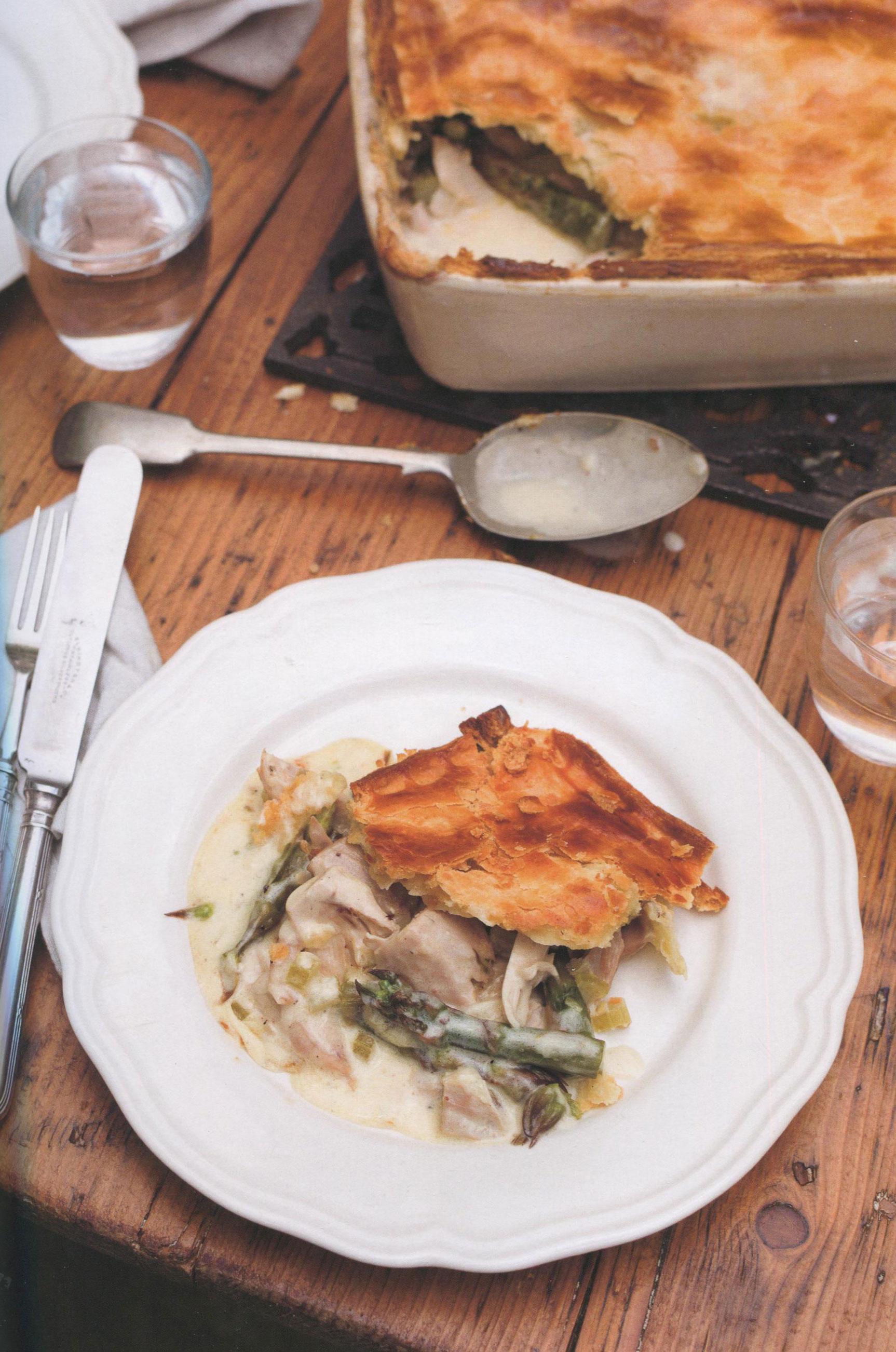 TBT Recipe: Chicken and Asparagus Pie