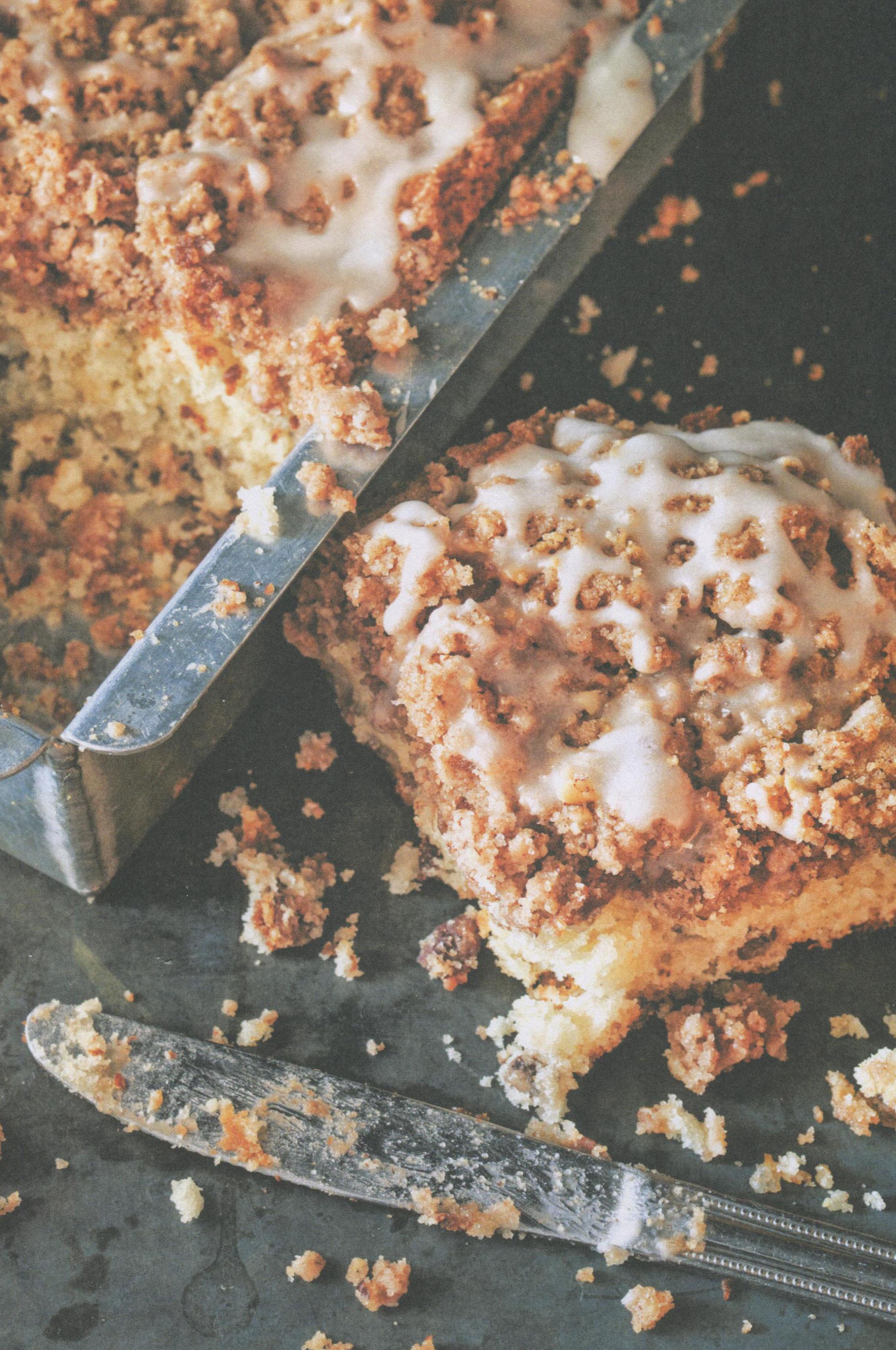 Banana Pecan Coffee Cake from Big Bad Breakfast