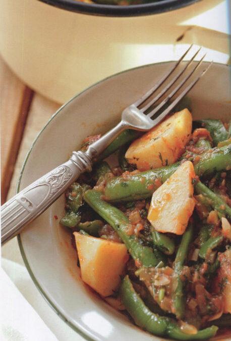 Everything Summer Vegetable Stew from Ikaria by Diane Kochilas