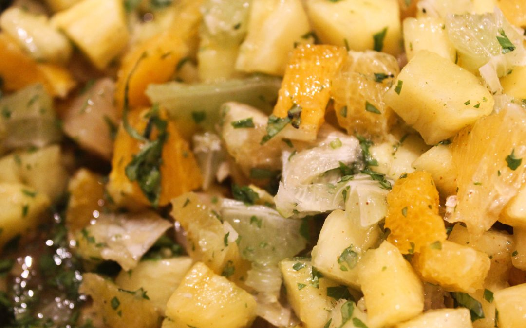 Tangy Citrus Salsa from Coyote Pantry by Mark Miller