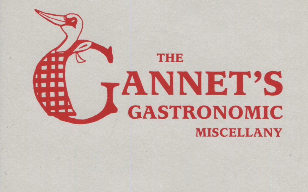 Cookbook Review: The Gannet's Gastronomic Miscellany