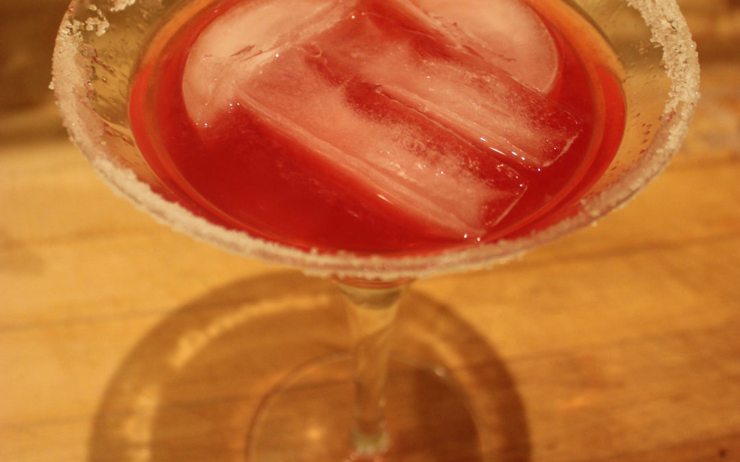 Cranberry Cordial Cosmo