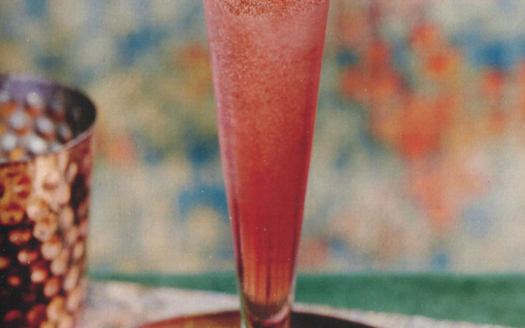 Super Bowl Idea: Cranberry and Orange Sparkler