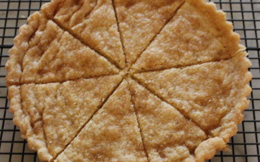 Vanilla Scented Shortbread
