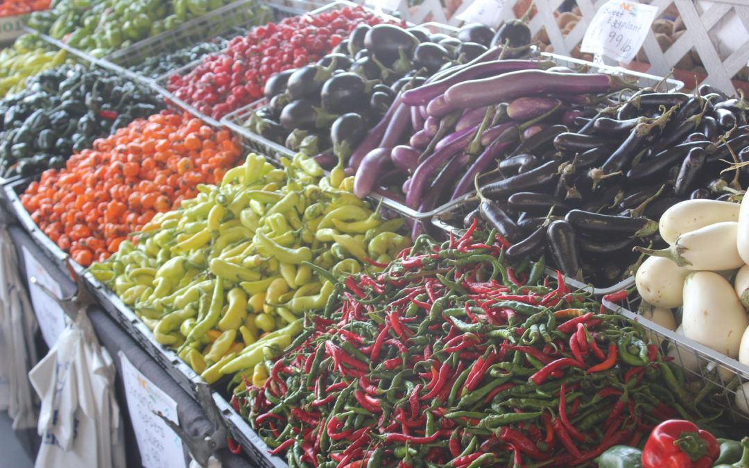 TBT Recipe: Spiced Peppers and Eggplant