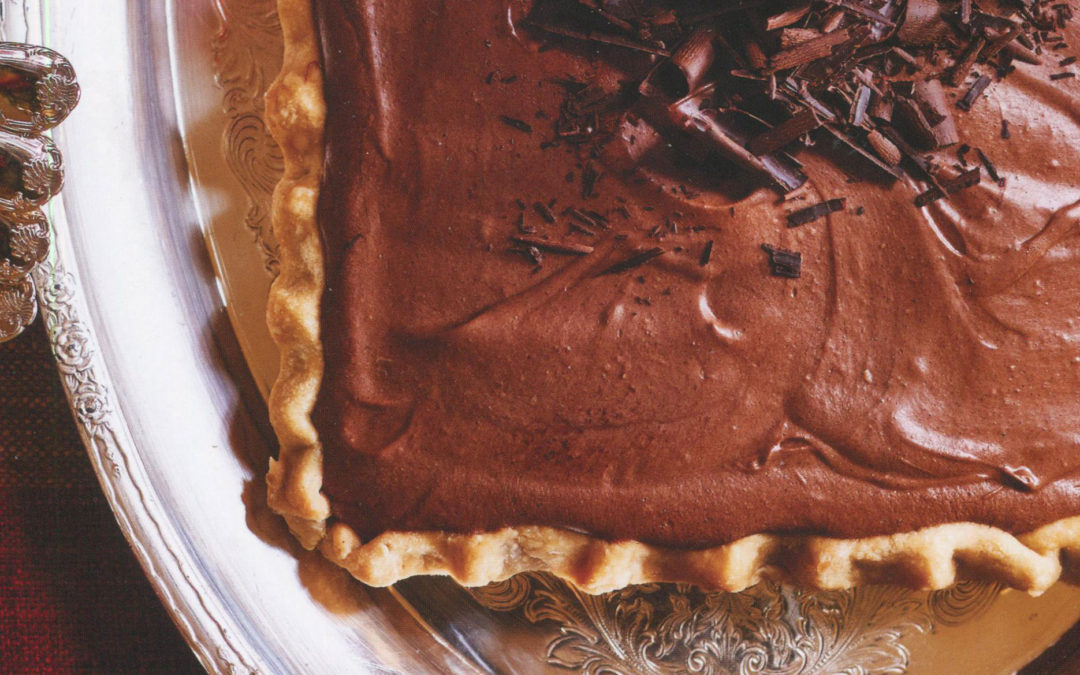 My Mother's French Silk Pie from Alex Hitz